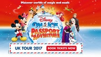 Disney On Ice : Passport To Adventure: concert and tour dates and tickets