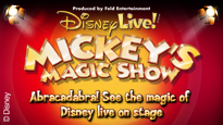 Disney Live! Mickey's Magic Show: concert and tour dates and tickets