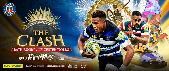 Find Tickets for The Clash Bath Vs Rugby