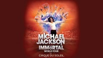 Michael Jackson: The Immortal World Tour - Cirque du Soleil: concert and tour dates and tickets