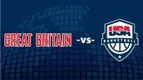 GB vs. USA Basketball - Men's: concert and tour dates and tickets