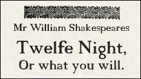 Twelfth Night: buy tickets