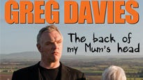 Greg Davies: concert and tour dates and tickets