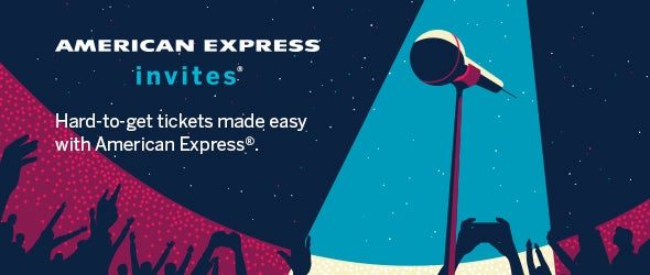 Search for American Express tickets