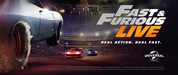 Find tickets for Fast & Furious