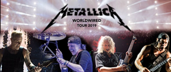 Find tickets for Metallica