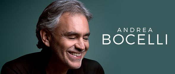 Find tickets for Andrea Bocelli