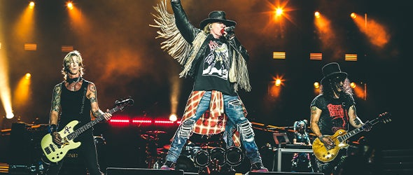 Find tickets for Guns n Roses