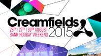 Creamfields: buy tickets