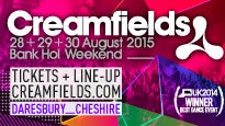 Creamfields: concert and tour dates and tickets