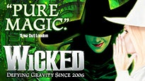 Wicked: concert and tour dates and tickets