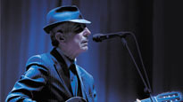 Leonard Cohen: concert and tour dates and tickets