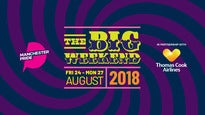 Manchester Pride's the Big Weekend 2018 - Friday Day Ticket