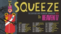 Squeeze Plus Special Guests Heaven 17