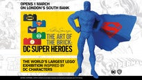 Art of the Brick: DC Super Heroes