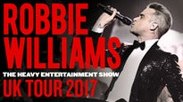 Robbie Williams - The Heavy Entertainment Show -  Ticket & Hotel