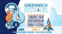 Greenwich Winter Time Festival: Afternoon Session [2:30pm To 5:30pm]