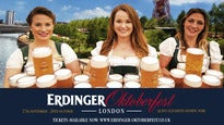 Erdinger Oktoberfest 2018 - Reserved Tables & Beer Tent