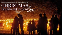 Christmas at Birmingham Botanical Gardens