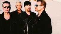 U2: The Joshua Tree Tour 2017 - Seated Silver Hot Ticket