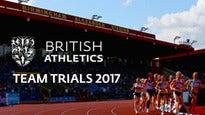 British Athletics Team Trials 2017