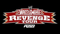WWE Raw - Wrestlemania Revenge Tour
