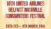 10th United Airlines Belfast Nashville Songwriters Festival