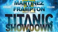 Titanic Showdown - Martinez V Frampton 2