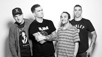 New Found Glory playing 'Sticks and Stones/Not Without A Fight' albums