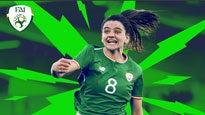 World Cup Qualifier Republic of Ireland Women V Northern Ireland Women