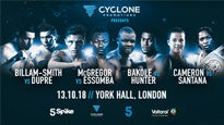 Cyclone Promotions Presents: Championship Boxing