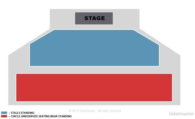 Tickets Papa Roach London At Ticketmaster - 02 london map