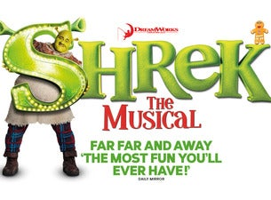 Shrek the Musical Uk Tour Tickets