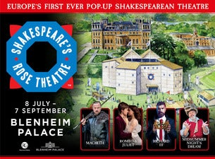 Shakespeare's Rose Theatre – A Midsummer Night's Dream