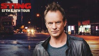 Sting Tickets