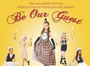 Be Our Guest - Kidanza Dance SchoolTickets