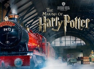 warner brothers studio tour the making of harry potter tickets