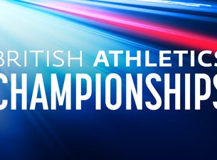 British Athletics Championships Tickets