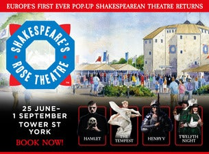 Shakespeare's Rose Theatre – The Tempest