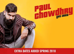 Paul Chowdhry. Tickets