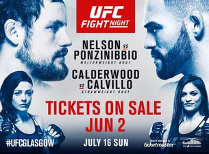 UFC Fight Night Glasgow Tickets