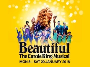 Beautiful: the Carole King Musical (Touring) Tickets