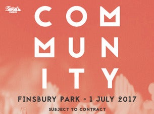 Community Festival Tickets