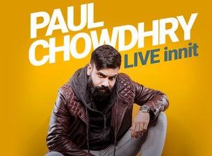 Paul ChowdhryTickets