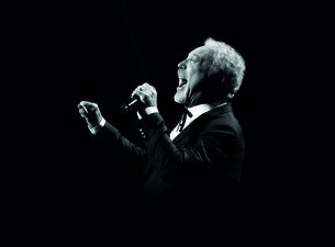 Tom Jones at the Abax Stadium Peterborough