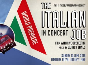 The Italian Job The Original Film with Live Orchestra Tickets