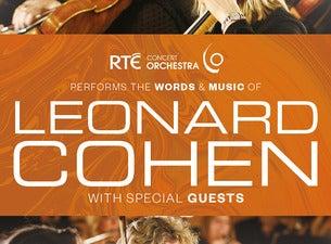 RTE Concert Orchestra performs Leonard Cohen