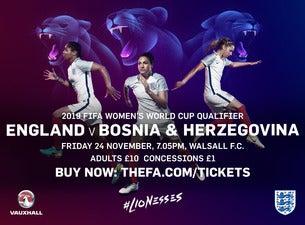 England Women's National Football TeamTickets