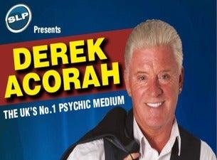Derek AcorahTickets