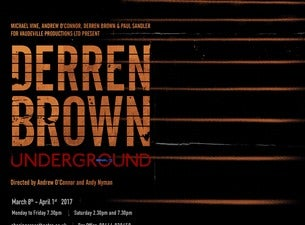Derren Brown Tickets